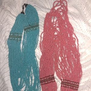 Two gorgeous necklaces. Wear separately/together